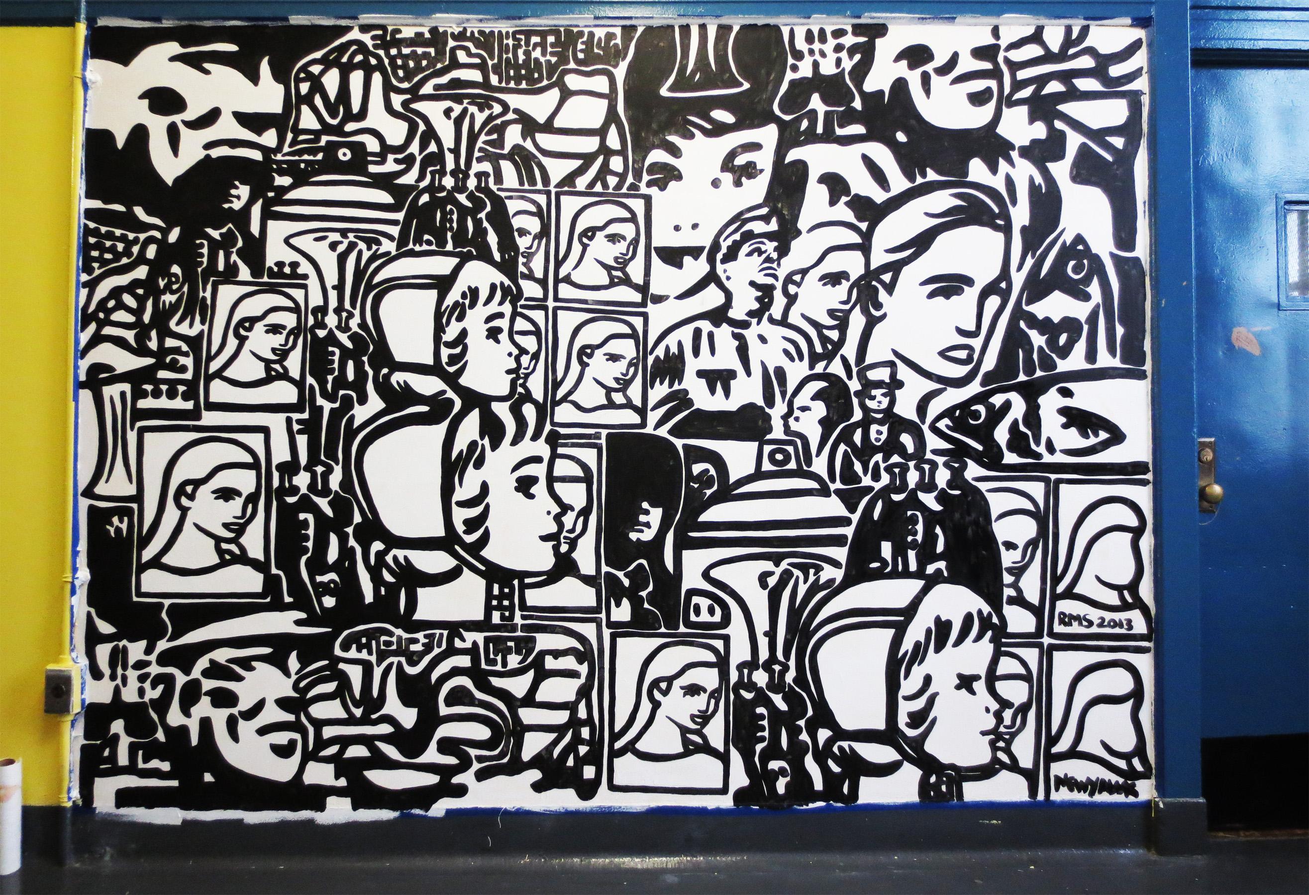 Mural Work @HALA