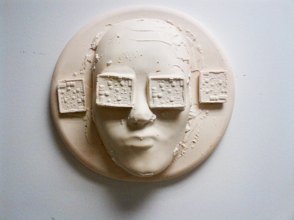 Plaster Cast Wall Arrangement