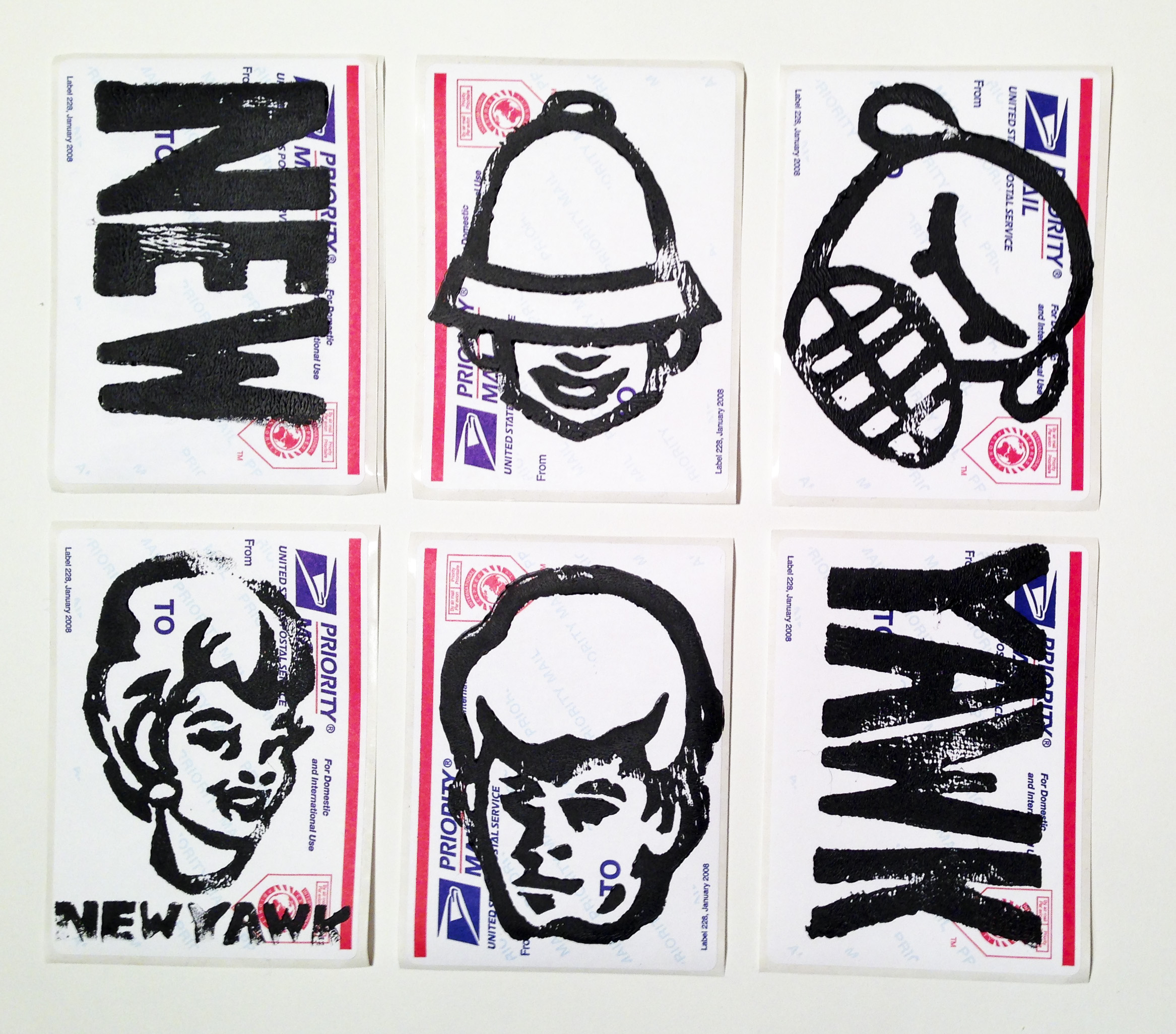 NEWYAWK Sticker pack