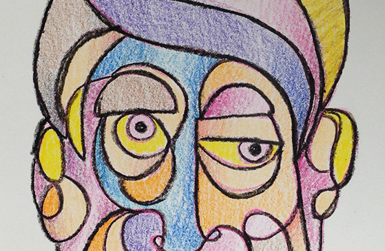 Fast Portraits In Between Life, 2015 #new #series #drawing