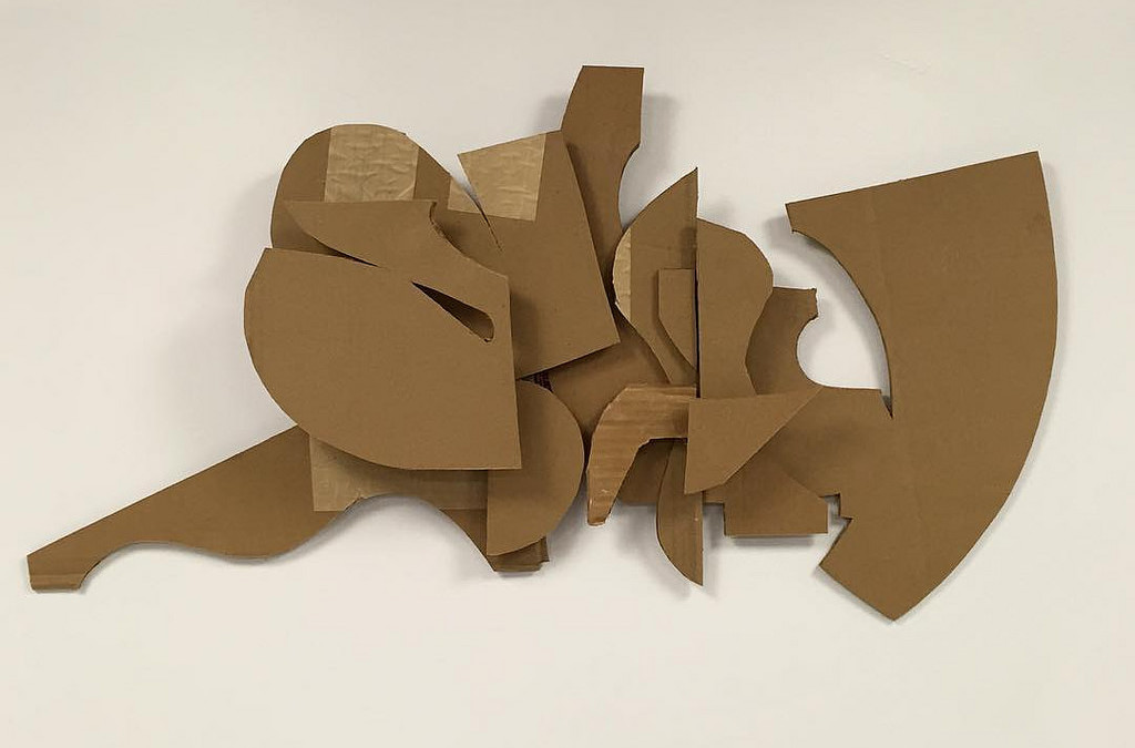 SLOW – New Wall Relief #Graffiti #Sculpture