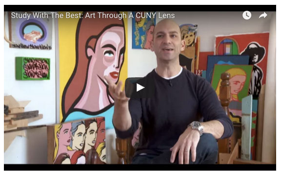 "CUNY TV Feature ""Study with the Best :: Art Through A CUNY Lens"""