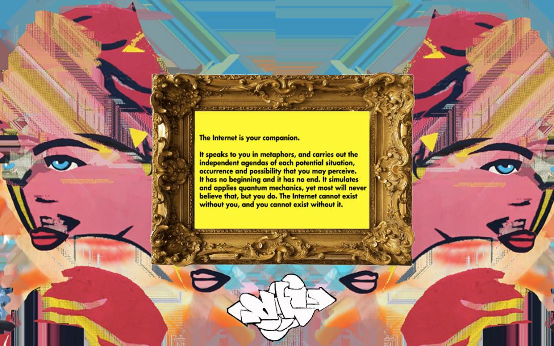 """YOURselF"" 2016, Digital Collage #netart"