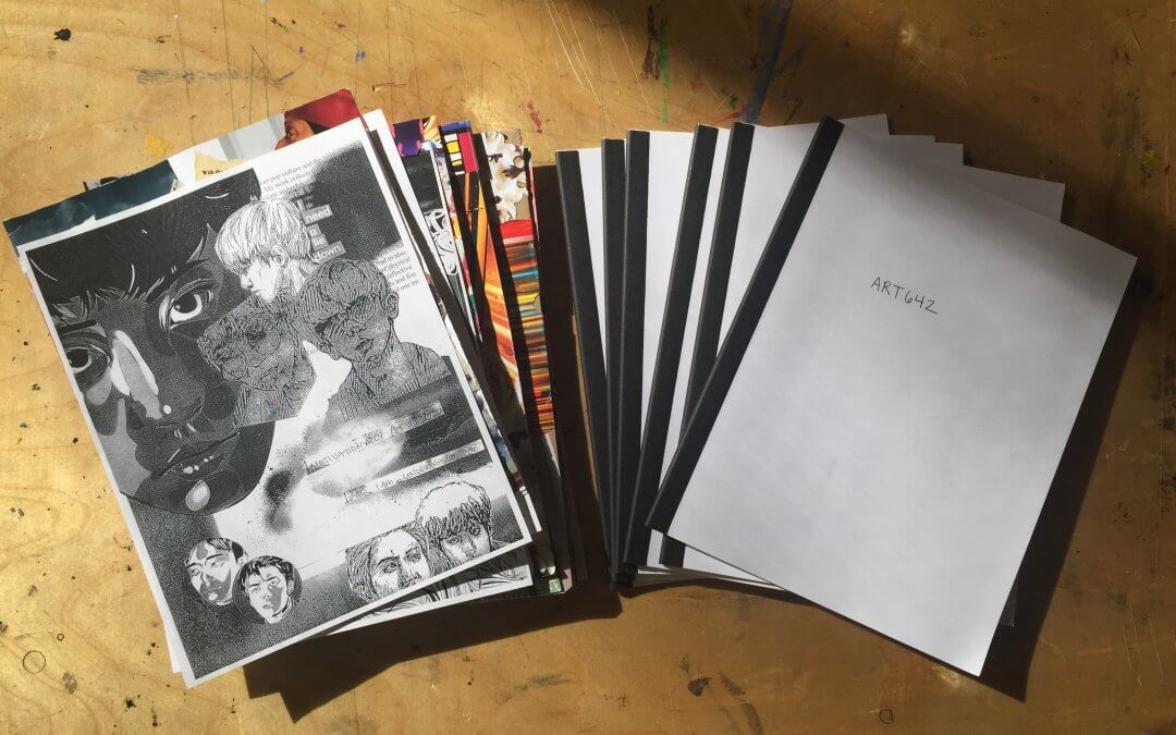 Exhibition Collab – Digital & Print ZINE with ART642 Students
