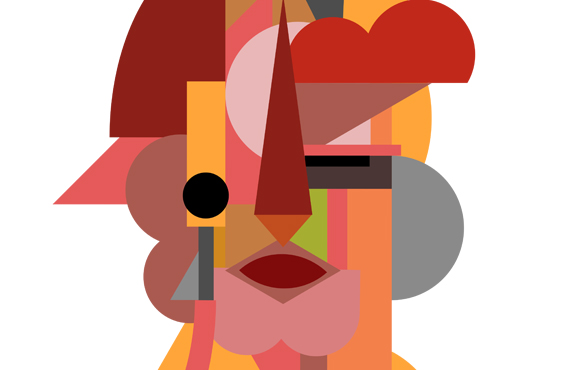 An Abstracted Self-Portrait Series