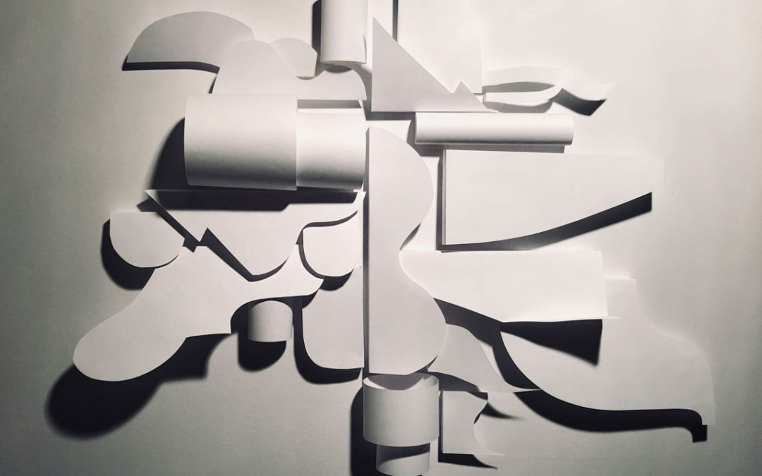 Exercises with Paper, Light & Shadows as Subject