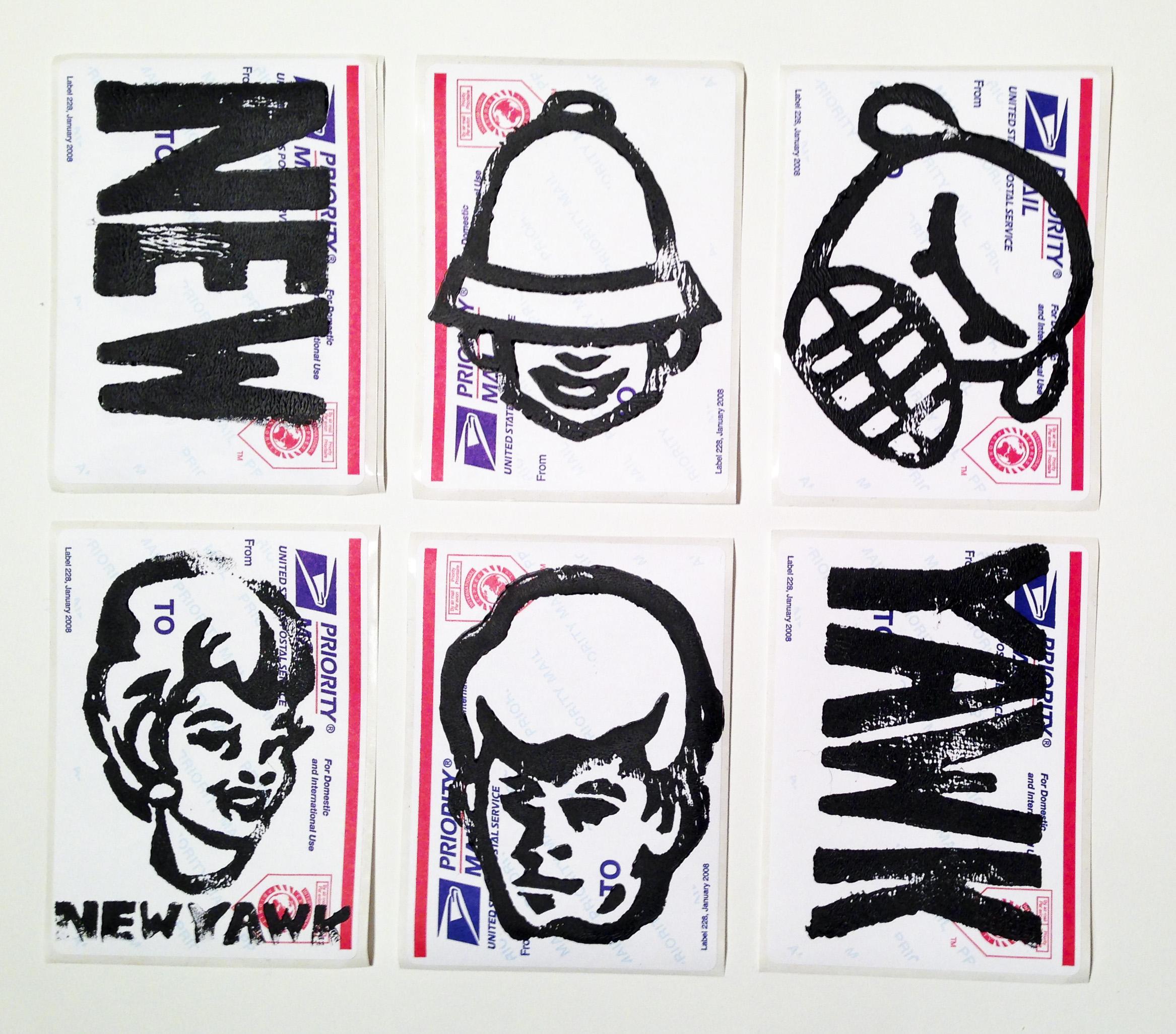 NEWYAWK Sticker pack