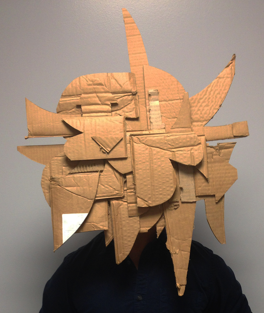 Graffiti Mask to GIF Animations #GIF #sculpture #graffiti