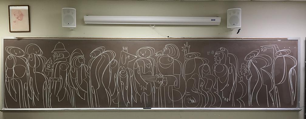 Spring Hittin' – 2016 Chalk Board Season
