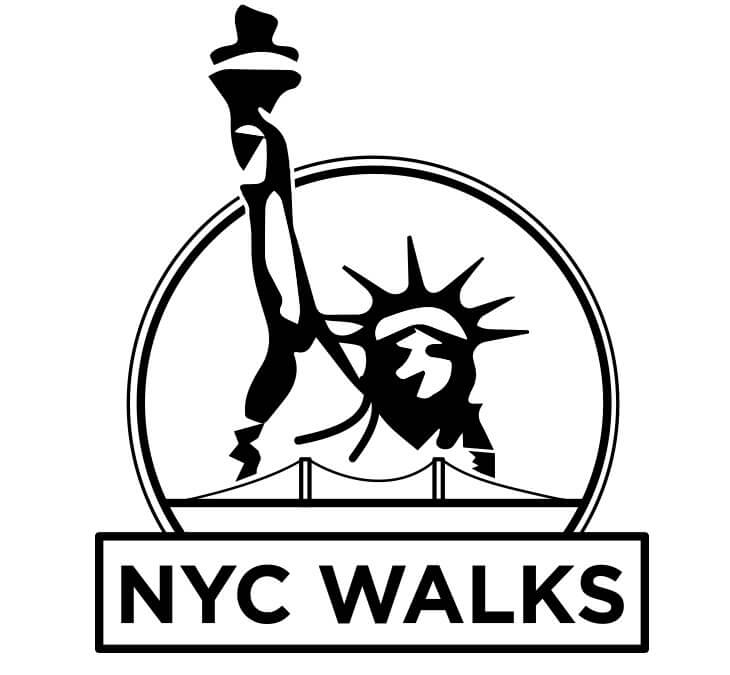 The NEW NYC WALKS Logo