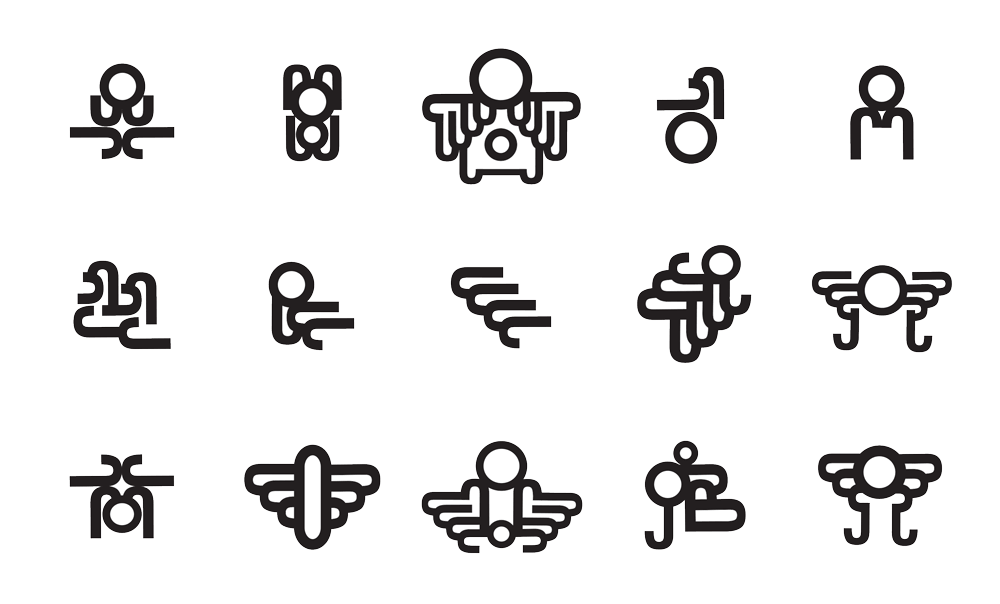 Experimental Logo Exercising