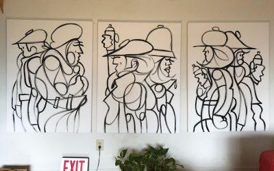 WIP – New Paintings in the Studio