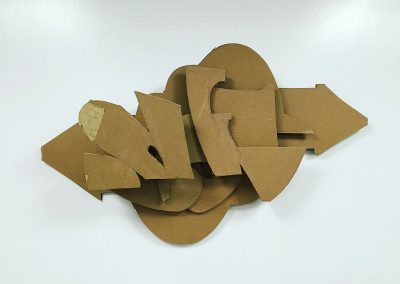 Ryan Seslow Fractured Letterform #16