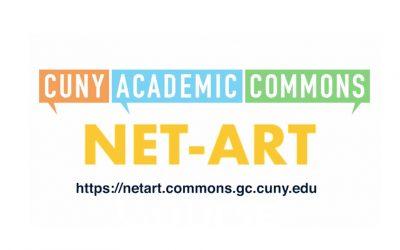 NET-ART at the CUNY GC DHI Lightning Talk on 11/13
