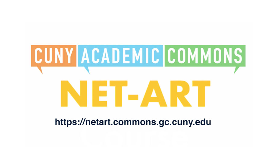 NET-ART at the CUNY GC DHI Lightning Talk on 11/13