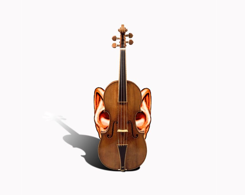The Vibrational Violinist