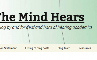 Sudden Remote Teaching – Deaf/HoH – for The Mind Hears.com