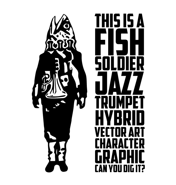 Fish-Soldier-Character